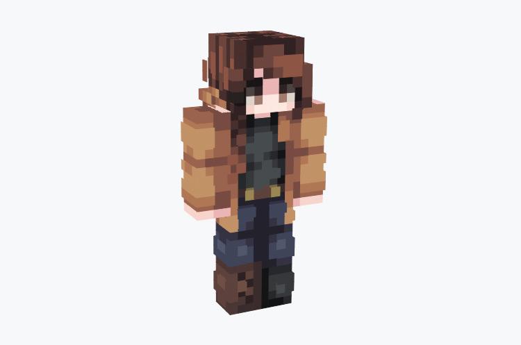 Katniss Everdeen Character / Minecraft Skin