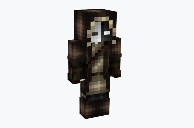 Masked Dark Hunter / Minecraft Skin