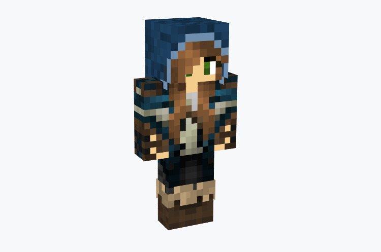 Female archer assassin girl / Minecraft Skin