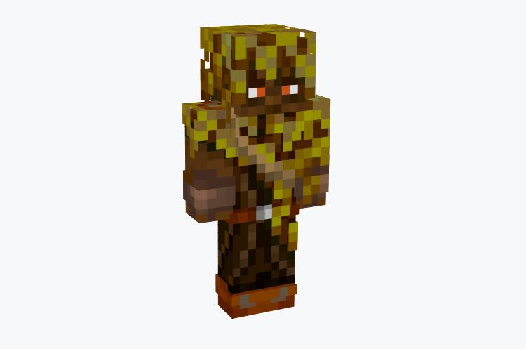 Forest Archer Character / Minecraft Skin