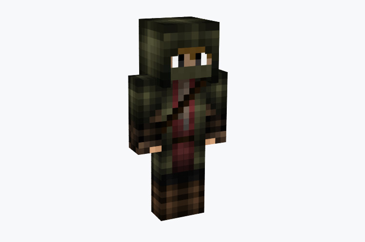 Cloaked Master Archer / Minecraft Skin