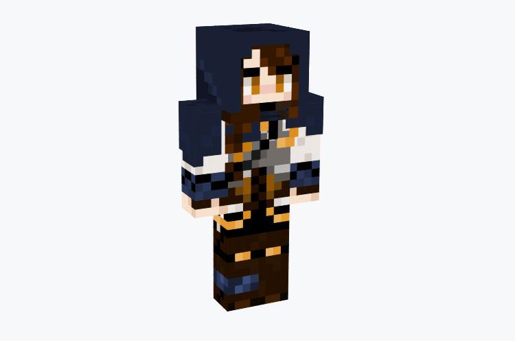 Blue Tundra Archer Male / Minecraft Skin