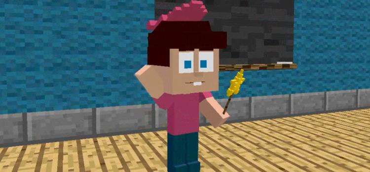 Timmy Turner in Minecraft