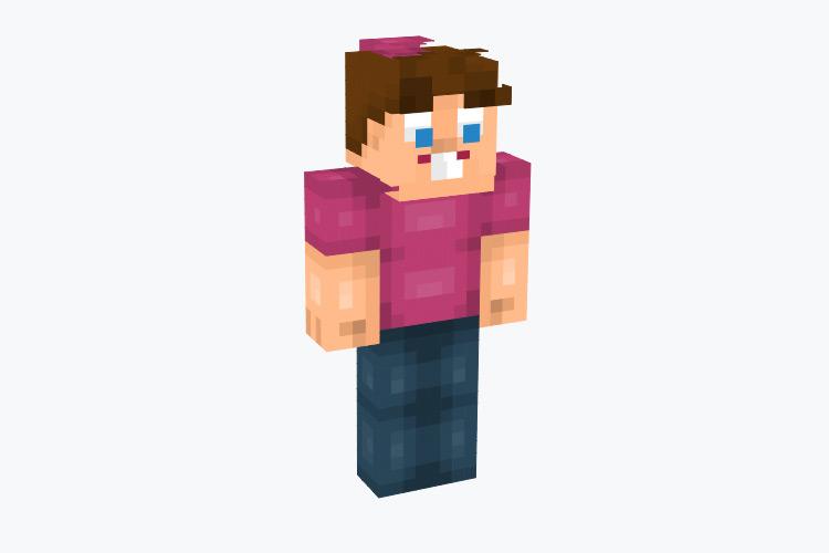 Timmy Turner Character / Minecraft Skin