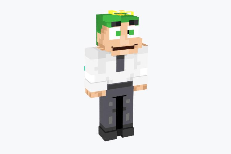 Cosmo Fairly OddParents / Minecraft Skin