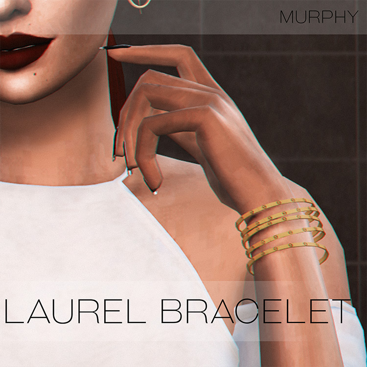Laurel Bracelet / Sims 4 CC