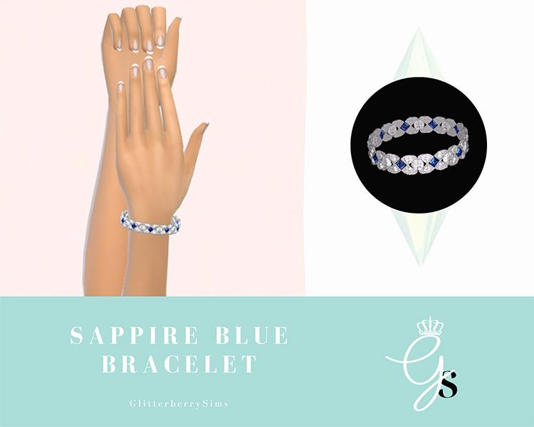 Sapphire Blue Bracelet / TS4 CC