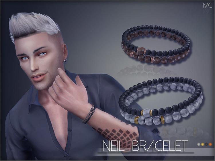 Neil Bracelet CC for The Sims 4