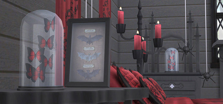 Sims 4 Vampire Furniture CC: The Ultimate Collection