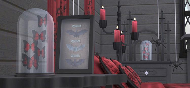Sims 4 Vampire Bedroom Furniture Set Preview