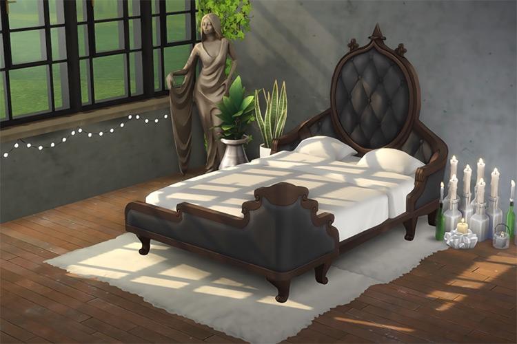 Vampire Custom Bedframe / Sims 4 CC