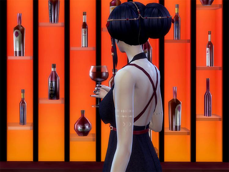 Vampire Blood Cabinet / Sims 4 CC