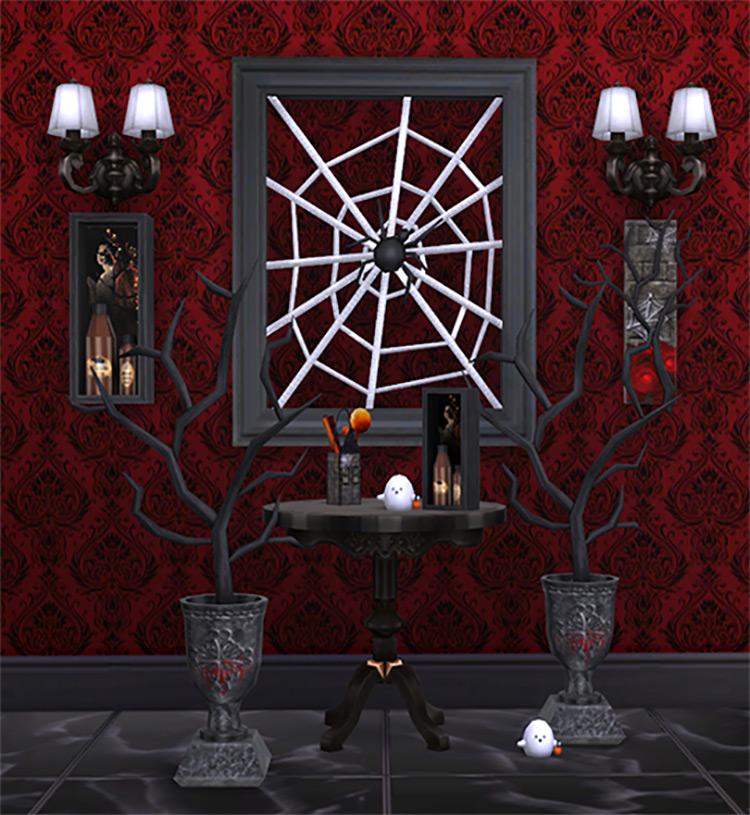 Gothic Décor Set / Sims 4 CC