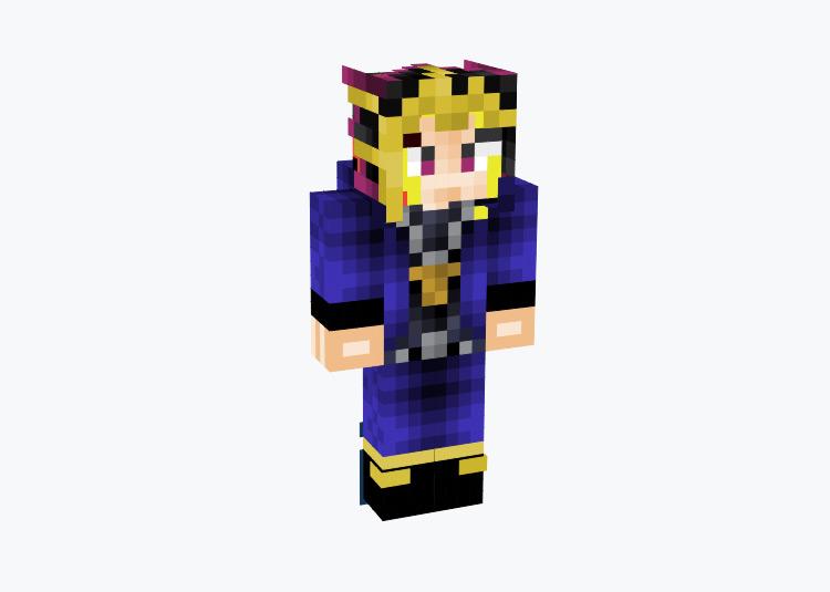 Atem Yugi Muto from Yu-Gi-Oh / Minecraft Skin