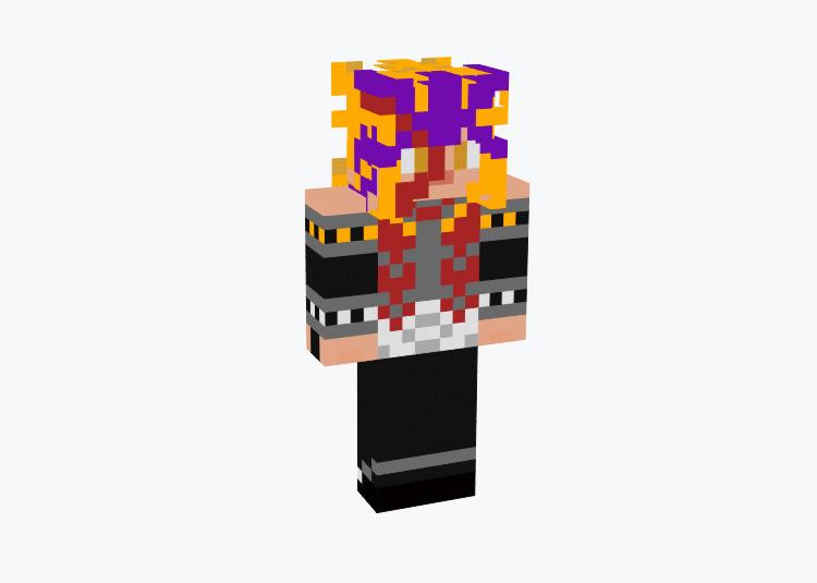 Paradox Yugioh Bonds of Time / Minecraft Skin