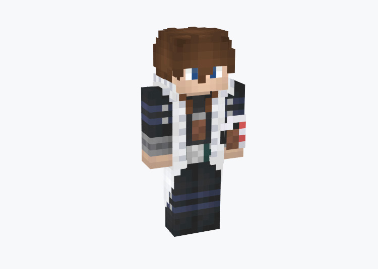 Seto Kaiba from Battle City / Minecraft Skin