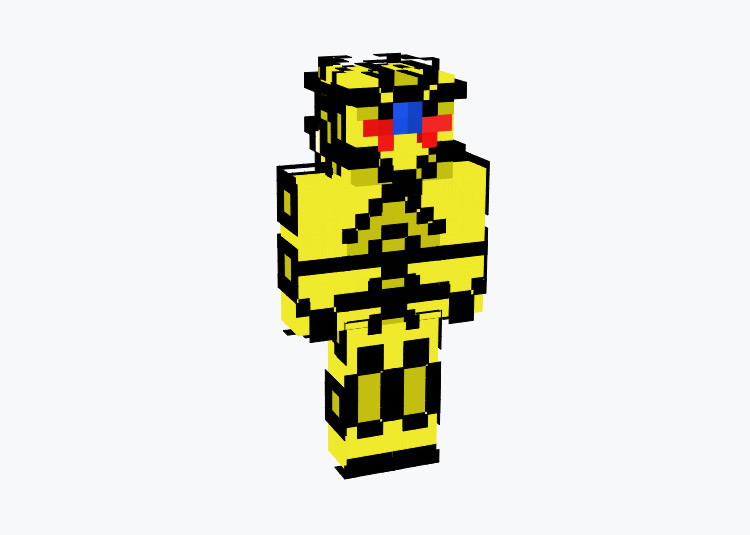 Winged Dragon of Ra Yugioh Human Design / Minecraft Skin