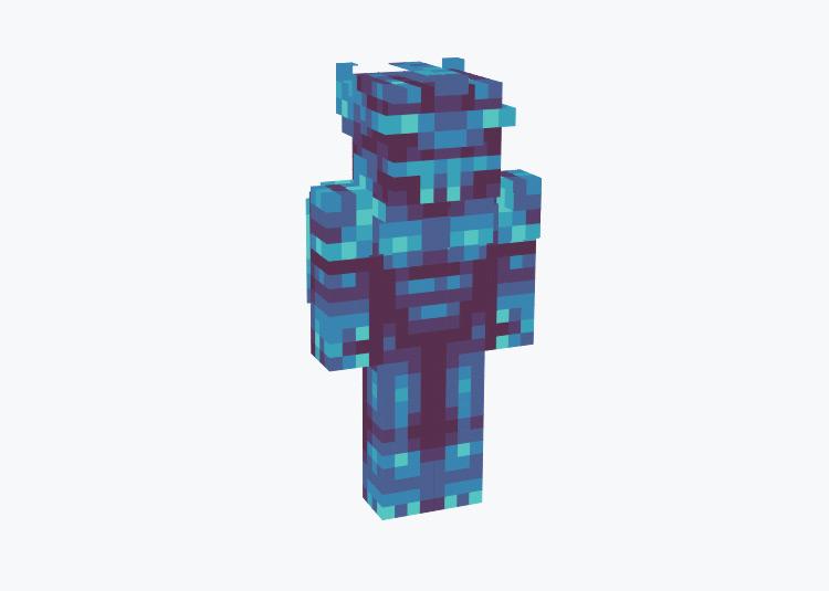 Obelisk the Tormentor God Card Yugioh Character / Minecraft Skin