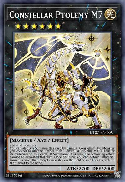 Constellar Ptolemy M7 Yu-Gi-Oh Card