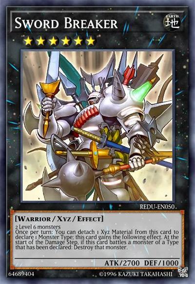 Sword Breaker YGO Card