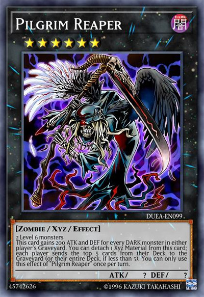 Pilgrim Reaper Yu-Gi-Oh Card