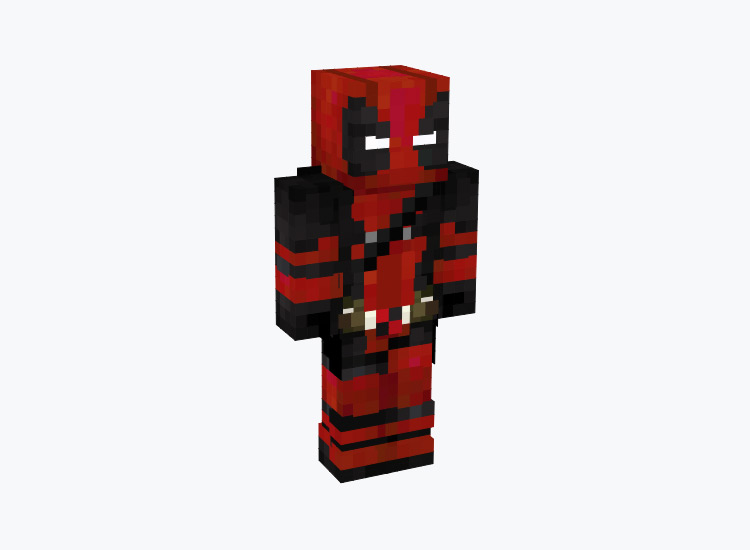 Deadpool Red Outfit / Minecraft Skin