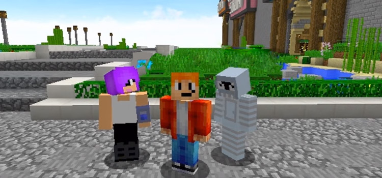 Minecraft Futurama Crossover: Leela, Fry & Bender MC Skins