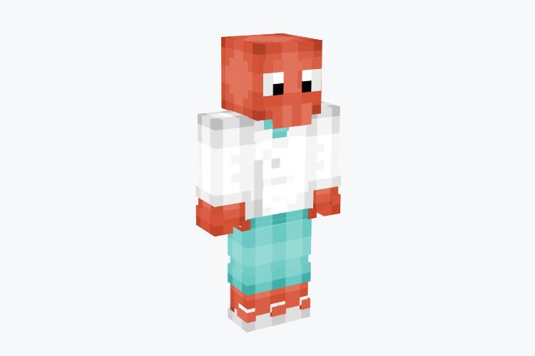 Dr. Zoidberg Minecraft Skin