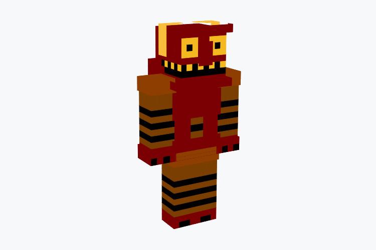 Futurama Robot Devil Minecraft Skin