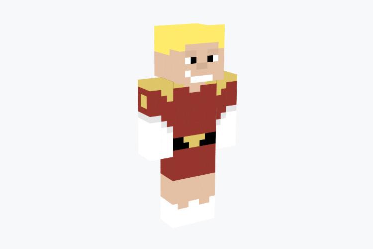 Zapp Brannigan Minecraft Skin
