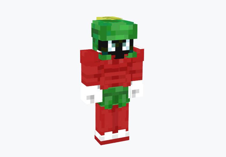 Looney Tunes Marvin the Martian / Minecraft Skin
