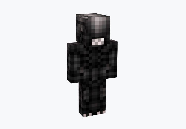 Xenomorph Dark Alien / Minecraft Skin