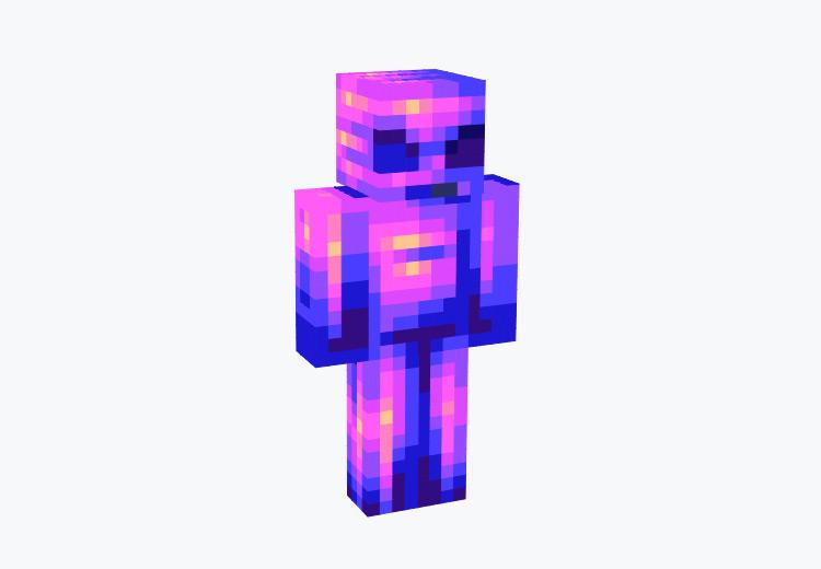Purple Alien Character / Minecraft Skin