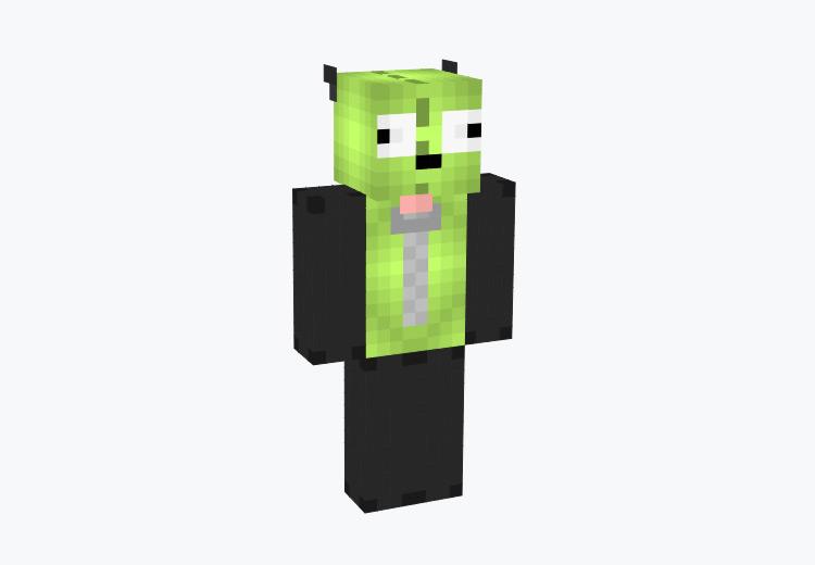 Gir from Invader Zim / Minecraft Skin