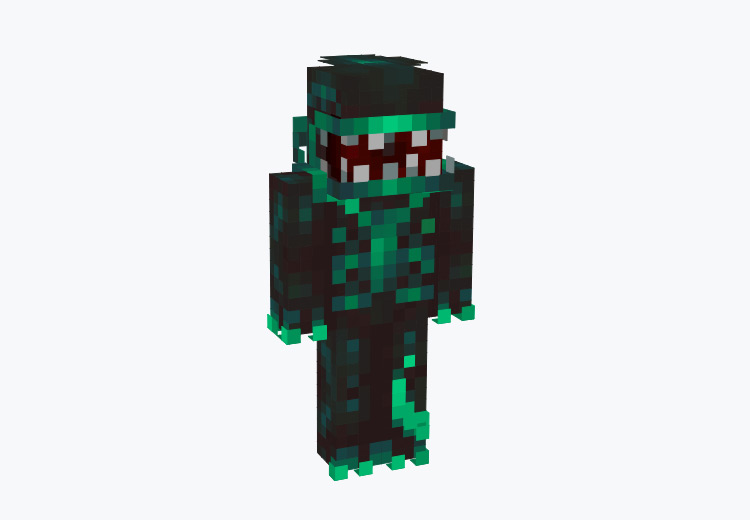 Plant From Little Shop of Horrors / Minecraft Skin