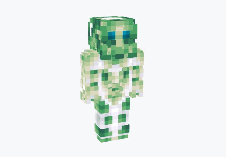 Green Alien Cyborg / Minecraft Skin