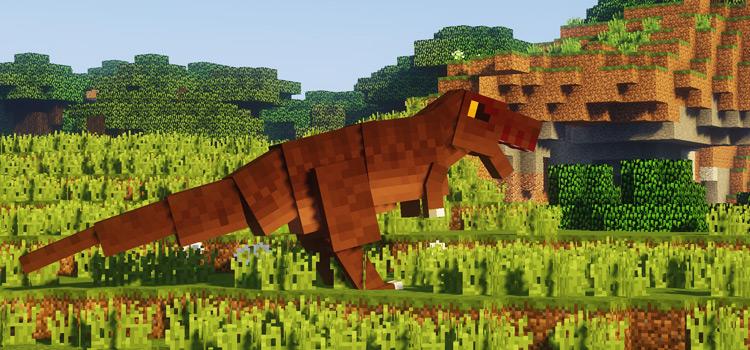 Fossils & Archeology Minecraft T-rex Mod