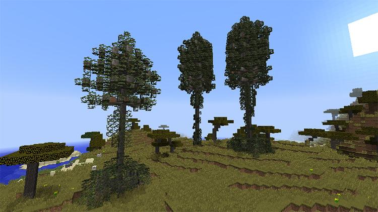 Prehistoric Flora Minecraft mod