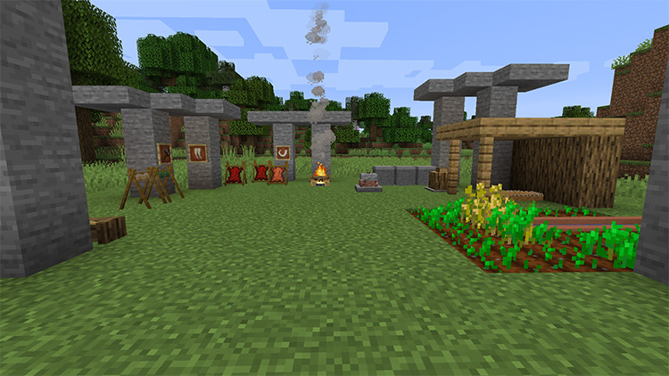 Yanny Stone Age Minecraft mod preview