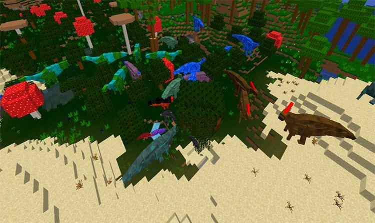 Mezicraft 8 Minecraft mod preview