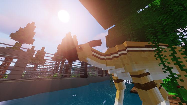 MineJurassic Minecraft mod preview