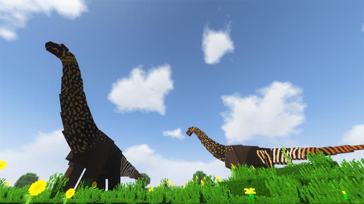 Prehistoric Eclipse mod for Minecraft