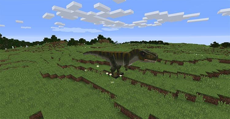 Jurassicraft Minecraft mod screenshot