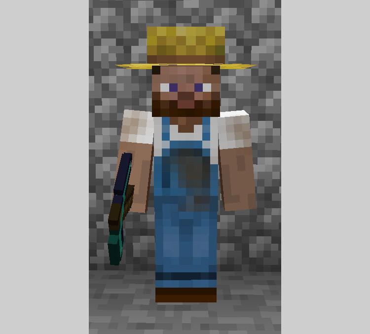 Villager Hats Minecraft mod