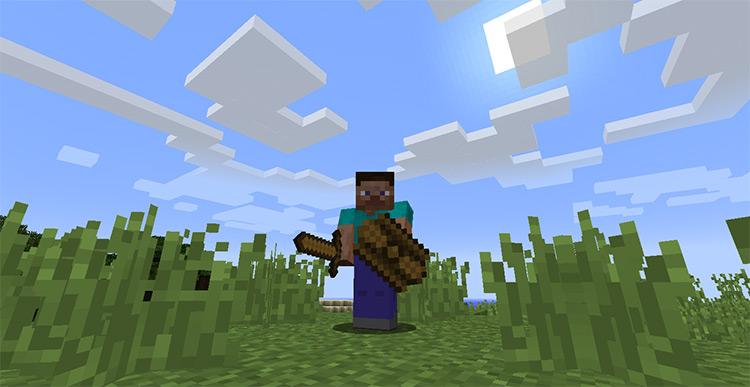 Spartan Shields mod for Minecraft