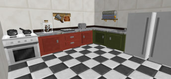 Kitchen Design from Cooking for Blockheads MC Mod