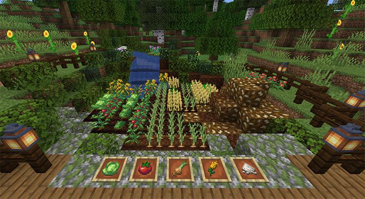 Farmers' Delight mod for Minecraft