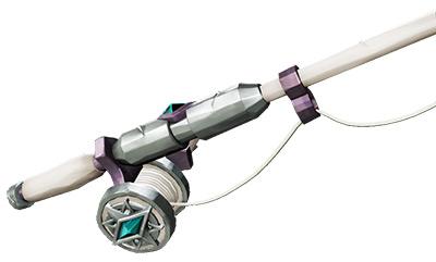 Sea of Thieves Silver Blade Fishing Rod skin