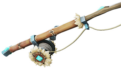 Frostbite Fishing Rod skin in Sea of Thieves