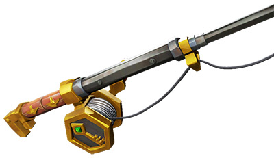 Sea of Thieves Gold Hoarders Fishing Rod skin
